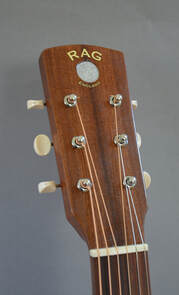 Flamenco Special headstock